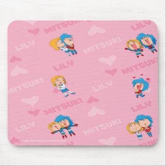 Kappa Mikey™ Lily & Mitsuki Mousepad