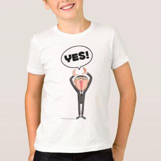 Kappa Mikey Yes! T-shirt