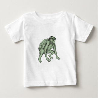 Kappa Monster Crouching Tattoo Baby T-Shirt