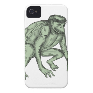 Kappa Monster Crouching Tattoo Case-Mate iPhone 4 Cases