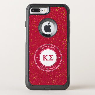Kappa Sigma | Badge OtterBox Commuter iPhone 8 Plus/7 Plus Case