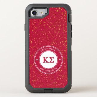 Kappa Sigma   Badge OtterBox Defender iPhone 8/7 Case