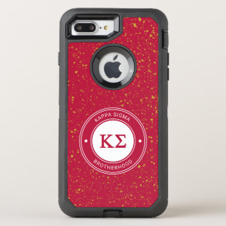 Kappa Sigma | Badge OtterBox Defender iPhone 8 Plus/7 Plus Case