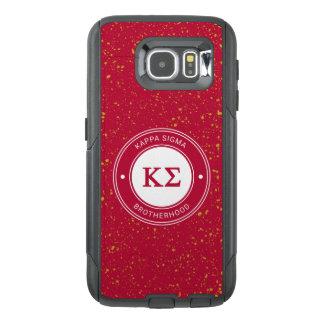 Kappa Sigma | Badge OtterBox Samsung Galaxy S6 Case