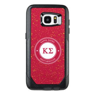 Kappa Sigma | Badge OtterBox Samsung Galaxy S7 Edge Case