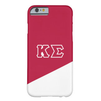 Kappa Sigma | Greek Letters Barely There iPhone 6 Case