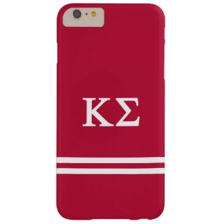 Kappa Sigma | Sport Stripe Barely There iPhone 6 Plus Case