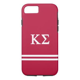 Kappa Sigma | Sport Stripe iPhone 7 Case