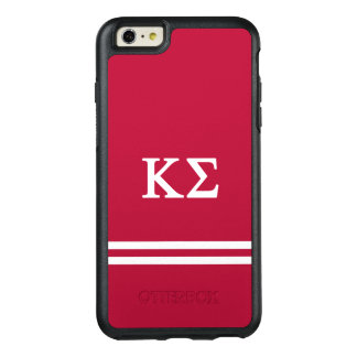 Kappa Sigma | Sport Stripe OtterBox iPhone 6/6s Plus Case