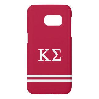 Kappa Sigma | Sport Stripe Samsung Galaxy S7 Case