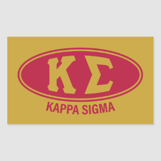 Kappa Sigma | Vintage Sticker