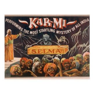 Kar-Mi, 'Selma' Vintage Theater Postcard
