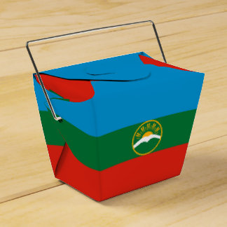 Karachay-Cherkessia Flag Favor Box