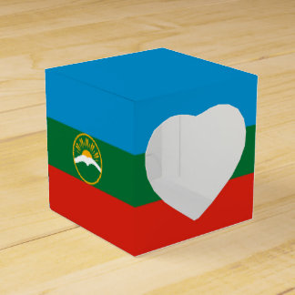 Karachay-Cherkessia Flag Favor Boxes
