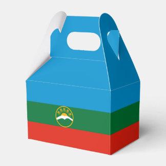 Karachay-Cherkessia Flag Party Favor Boxes