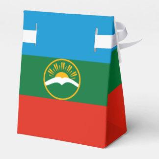 Karachay-Cherkessia Flag Wedding Favor Boxes