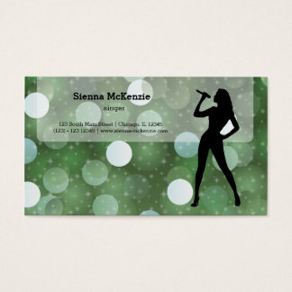 Karaoke Business Card