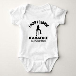 karaoke designs baby bodysuit