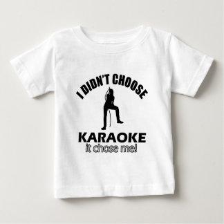 karaoke designs baby T-Shirt