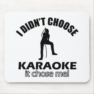 karaoke designs mouse pad