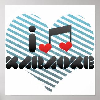 Karaoke fan poster