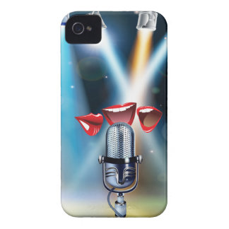 Karaoke Funny iPhone 4 Cover