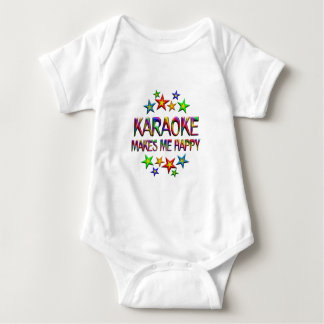 Karaoke Happy Baby Bodysuit