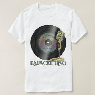 Karaoke King Personalized Record T-Shirt