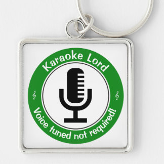 Karaoke Master Keychain