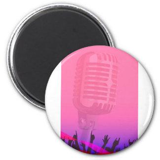 Karaoke Night Audience Poster Magnet
