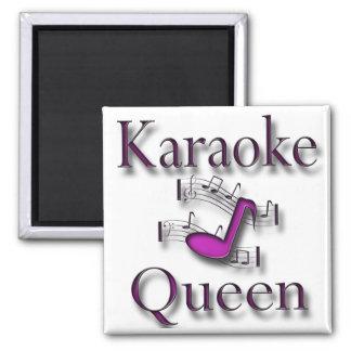 Karaoke Queen Magnet