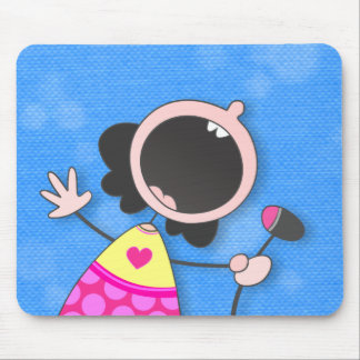 Karaoke Queen Mouse Pad