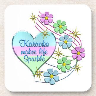 Karaoke Sparkles Coaster