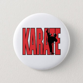Karate 2 Inch Round Button