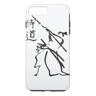 Karate and Character iPhone Case