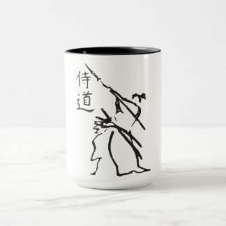 Karate and Character Mug