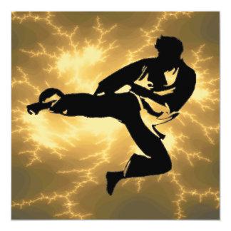 Karate BDay Party Custom Invitations