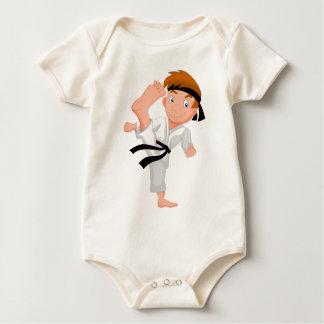 KARATE BOY BABY BODYSUIT