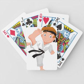 KARATE BOY BICYCLE PLAYING CARDS
