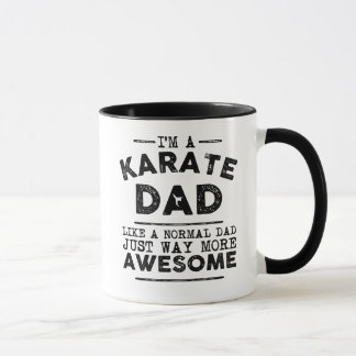 Karate Dad Mug (Black)