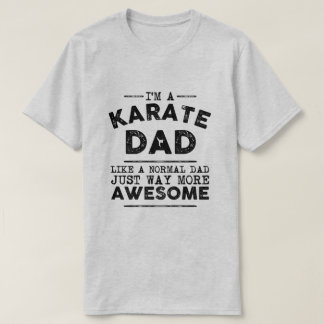 Karate Dad Vintage (Black) T-Shirt