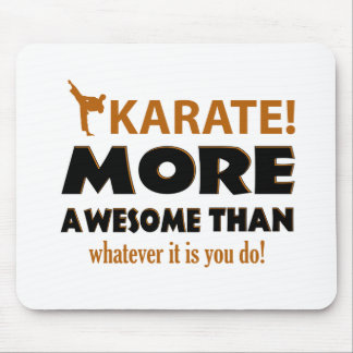 KARATE DESIGN MOUSE PAD