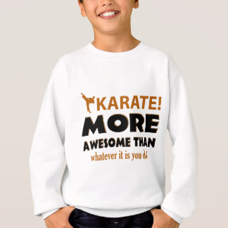 KARATE DESIGN SWEATSHIRT
