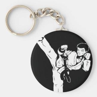 karate empty hand keychain