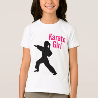 Karate Girl Ringer T Shirt