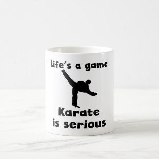 Karate Is Serious Mug