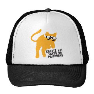 Karate KAT (cat) takes no prisoners Hat