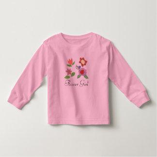 Karate Kat flower girl top--to personalize Toddler T-shirt