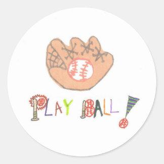 Karate Kat Graphics baseball sticker