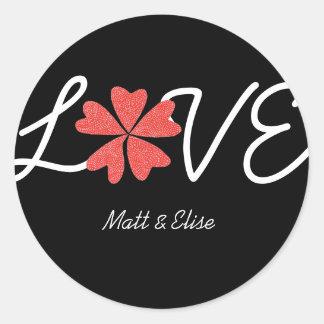 Karate Kat Graphics love-in-bloom wedding seal